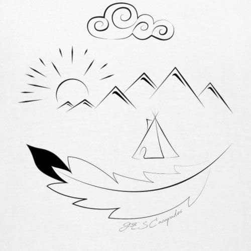 logo paysage gescapades - T-shirt Enfant