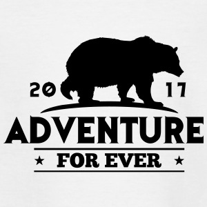ADVENTURE FOR EVER - GRIZZLY - Maglietta per bambini