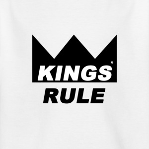Kings Rule - T-skjorte for barn