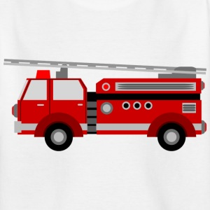 firetruck - T-skjorte for barn