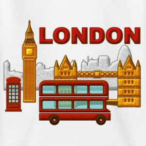 Londres, London, Inglaterra, recuerdo - Kinderen T-shirt