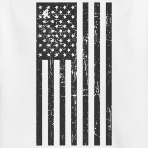 USA Flagge! Amerika! Patriot! Stolz! - Kinder T-Shirt