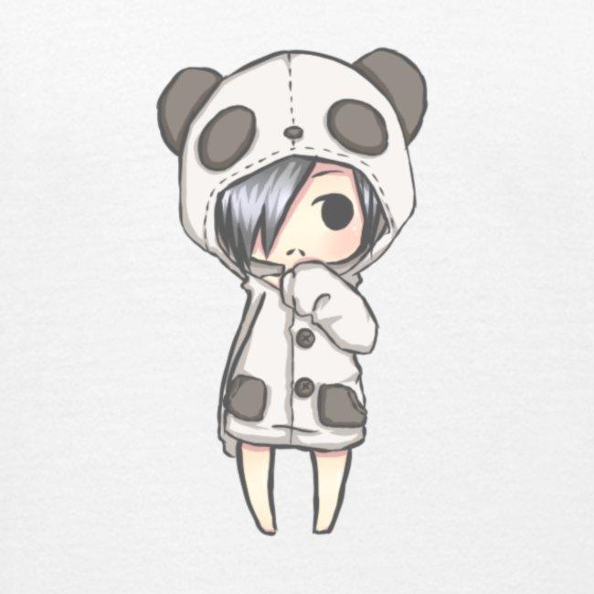 Cute girl panda