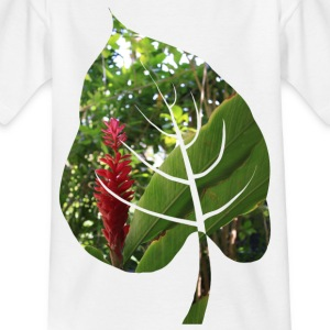 Red bloom - Kids' T-Shirt