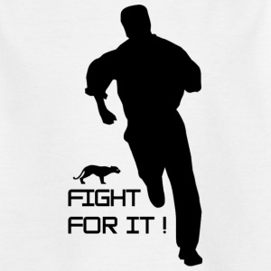 fight_for_it-png - Camiseta niño