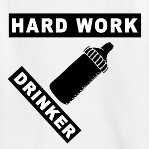 Hardwork Drink - T-skjorte for barn