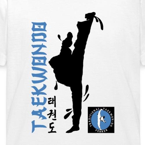 Michael Silhouette Taekwon-Do - Kinder T-Shirt
