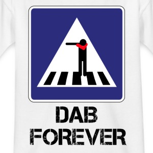 FOREVER ZEBRA CROSSING DAB / DAB AND THEN THROUGH - Kids' T-Shirt