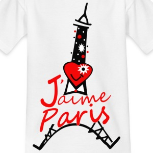 j-aime_paris - T-shirt Enfant