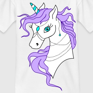 Unicorn Violet - T-shirt Enfant