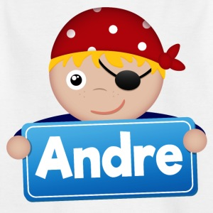 Little Pirate Andre - Kids' T-Shirt
