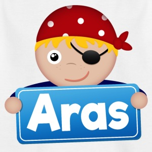 Little Pirate Aras - T-shirt barn