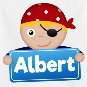 Kleiner Pirat Albert - Kinder T-Shirt