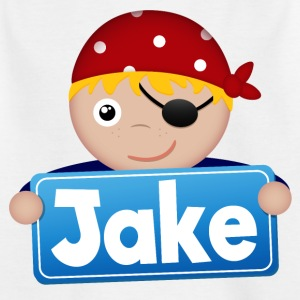Kleiner Pirat Jake - Kinder T-Shirt