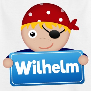 Little Pirate Wilhelm - Kids' T-Shirt
