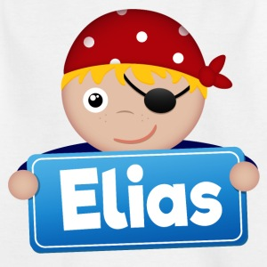 Little Pirate Elias - T-shirt barn