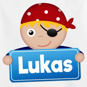 Little Pirate Lukas - T-shirt barn