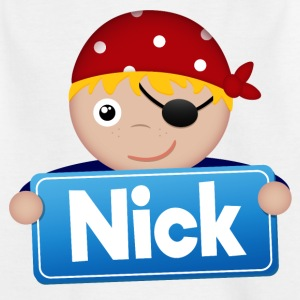 Little Pirate Nick - Kids' T-Shirt