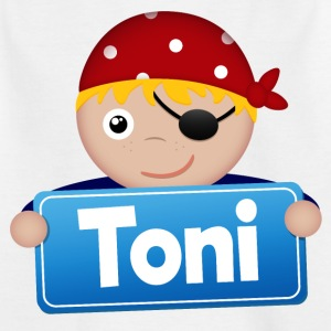 Little Pirate Toni - Kids' T-Shirt