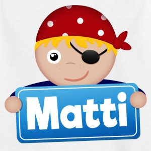 Petit Pirate Matti - T-shirt Enfant