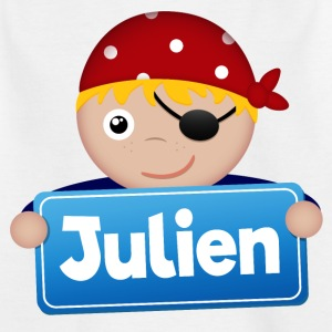 Kleiner Pirat Julien - Kinder T-Shirt