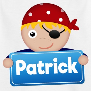 Little Pirate Patrick - Kinderen T-shirt
