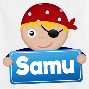 Little Pirate Samu - T-shirt barn