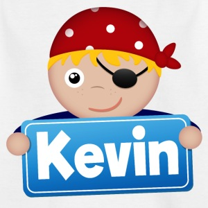 Little Pirate Kevin - Kids' T-Shirt