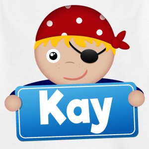 Little Pirate Kay - Kids' T-Shirt