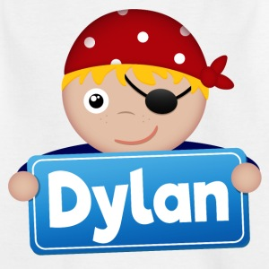 Little Pirate Dylan - T-shirt barn