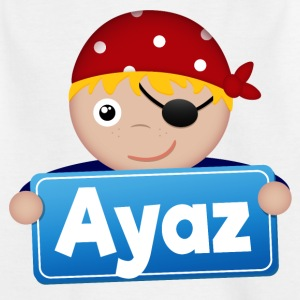 Little Pirate Ayaz - Kids' T-Shirt