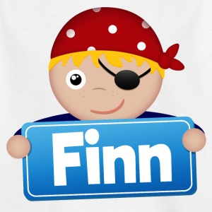 Lite Pirate Finn - T-skjorte for barn