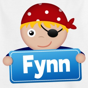Little Pirate Fynn - T-shirt barn