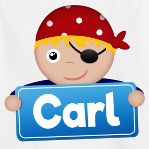 Little Pirate Carl - Kids' T-Shirt