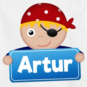 Lite Pirate Artur - T-skjorte for barn
