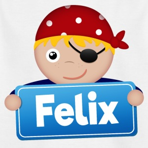 Little Pirate Felix - T-shirt barn