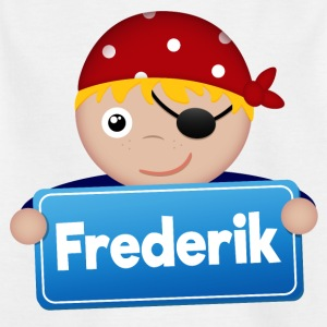 Little Pirate Frederik - T-shirt barn
