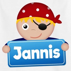 Little Pirate Jannis - Kids' T-Shirt
