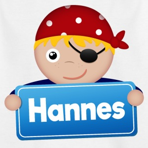 Little Pirate Hannes - T-shirt barn