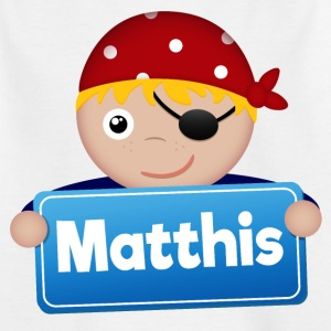 Petit Pirate Matthis - T-shirt Enfant