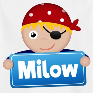 Kleiner Pirat Milow - Kinder T-Shirt