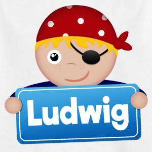 Little Pirate Ludwig - Kids' T-Shirt