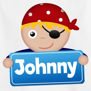 Kleiner Pirat Johnny - Kinder T-Shirt