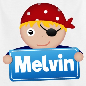 Little Pirate Melvin - Kids' T-Shirt