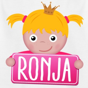 Little princess Ronja - Kids' T-Shirt