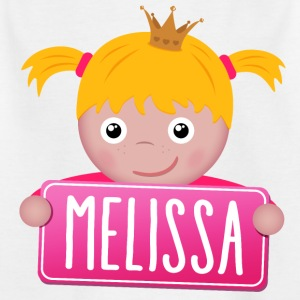 Little Princess Melissa - Kids' T-Shirt