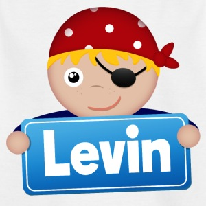 Little Pirate Levin - Kids' T-Shirt