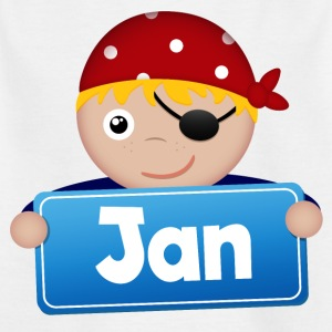 Lite Pirate januar - T-skjorte for barn