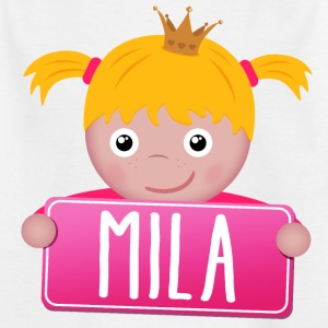 Little Princess Mila - T-shirt Enfant