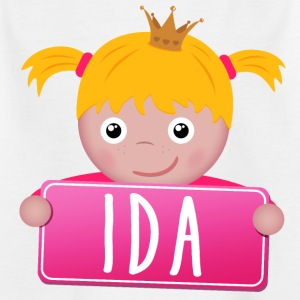 Little Princess Ida - T-shirt barn